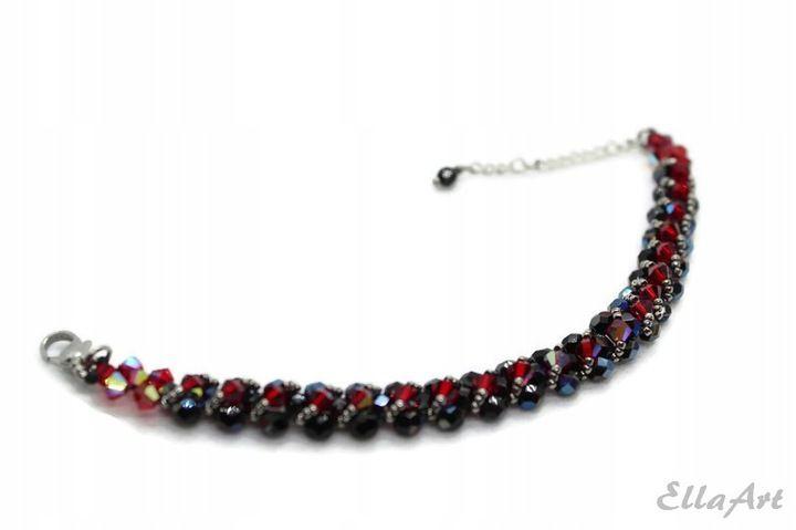 Ellaart Delikatna Bransoletka Z Krysztalkow 8340744949 Oficjalne Archiwum Allegro Beaded Jewelry Beaded Bracelets Jewelry