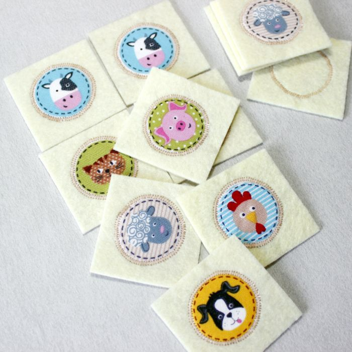 Matching card, Farm Animals, Game card toddler #memory #montessori #Developvocabulary #motorskills #farm #animals