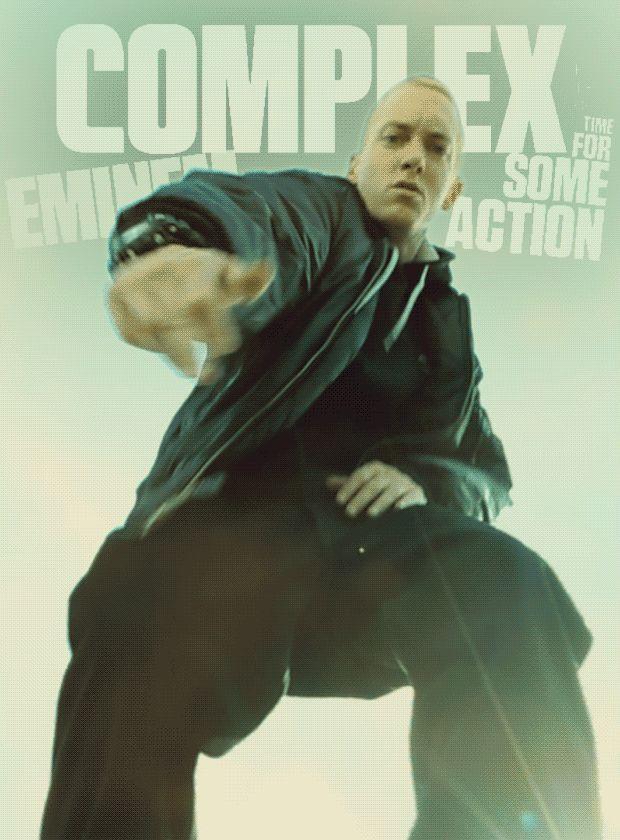 Eminem covers Complex's latest digital cover. He's back. http://cmplx.it/HhTbEC #EminemWeek