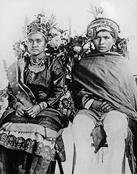 Mandailing ethnic. Tapanuli, Sumatera.