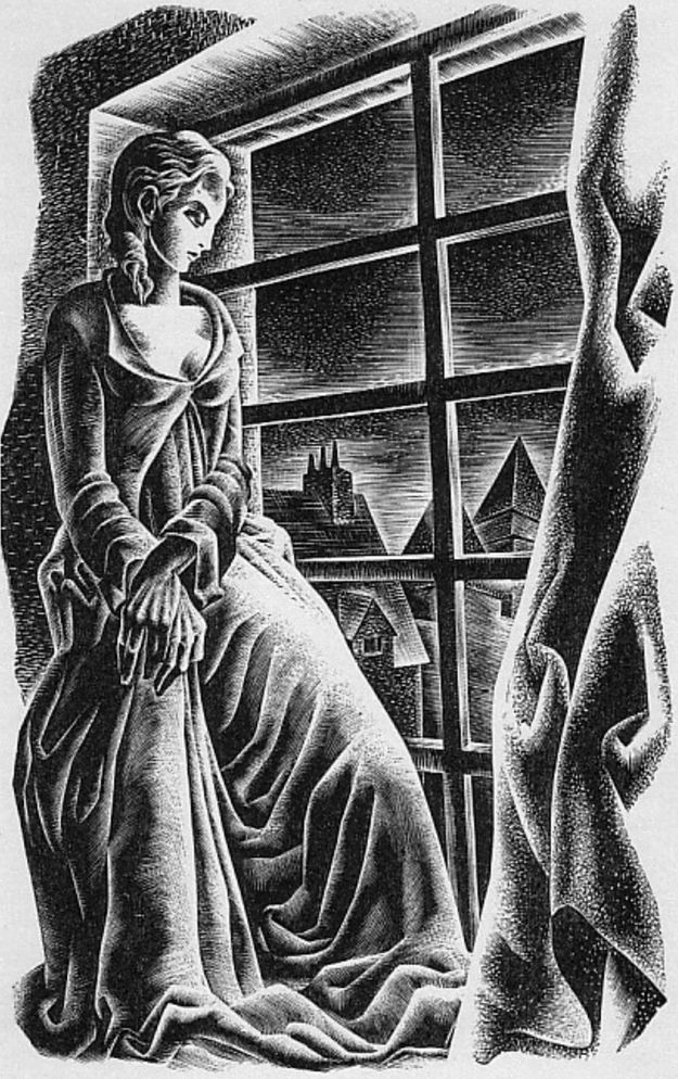 Lynd Ward (1905-1985, American), 1934, Frankenstein by Mary Shelley, Publisher: Harrison Smith and Robert Haas, New York.