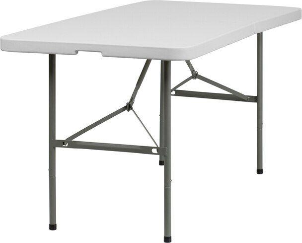 30x60 White Bi Fold Table 96 99 In 2020 Folding Table Flash Furniture White Table Top