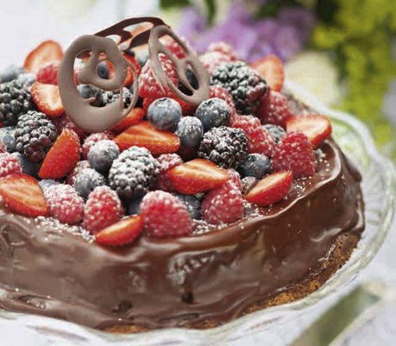 Chokladtårta - LCHF