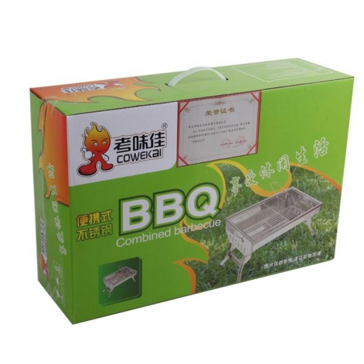 Out of doors Camping BBQ Charcoal Grills for Sale-picture5