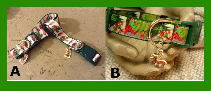 The Grinch & Cindy Lou Who SMALLER SIZES now available in white bkg only Adjustable Dog collars, Max the dog charm LEASH, key fob available by Sewwho on Etsy