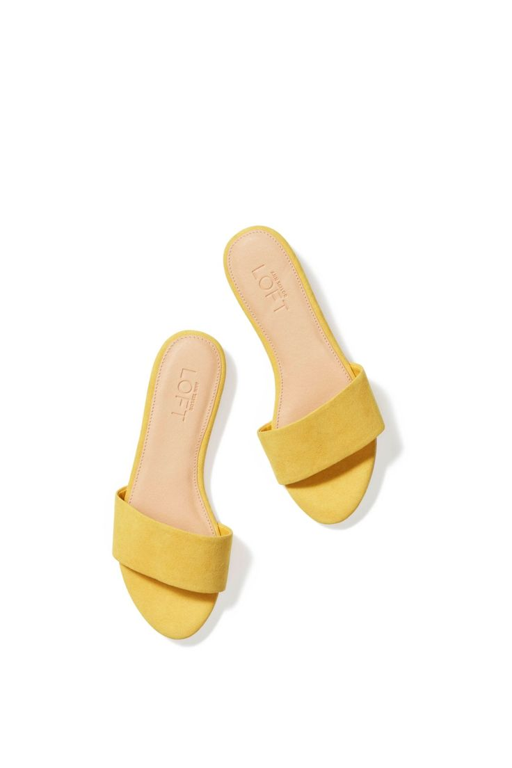 $49.50 Slide into effortless style with these sandals