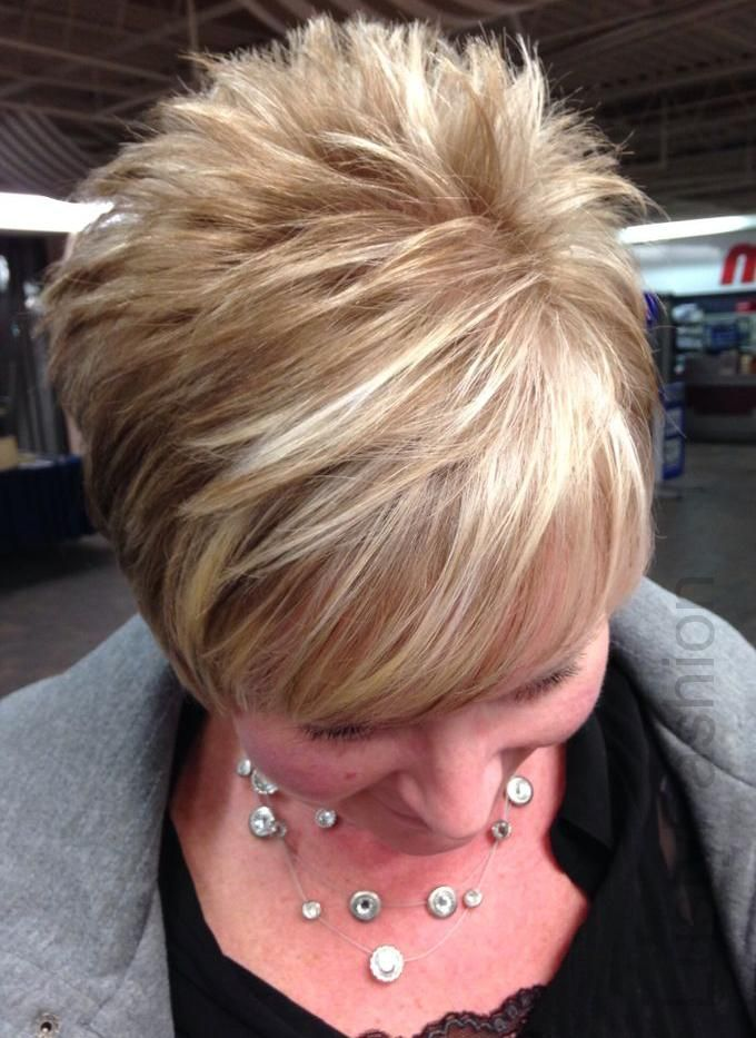 Image Result For Blonde And Brown Highlights On Short Hair Cuts