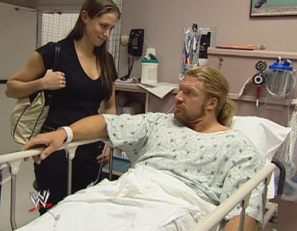 Triple H & Stephanie McMahon 2001