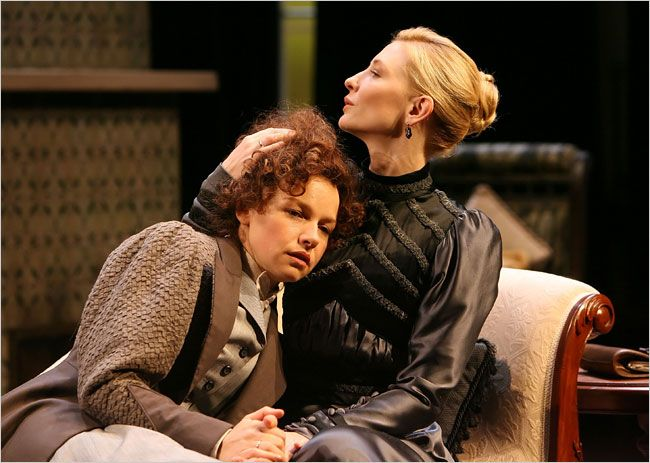 the best hedda gabler ideas set design theatre  this is a picture of hedda gabler comforting mrs elvsted while she was waiting for