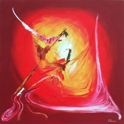 Kees Varkevisser,romantisch-abstracte schilder,romantic-abstract painter.