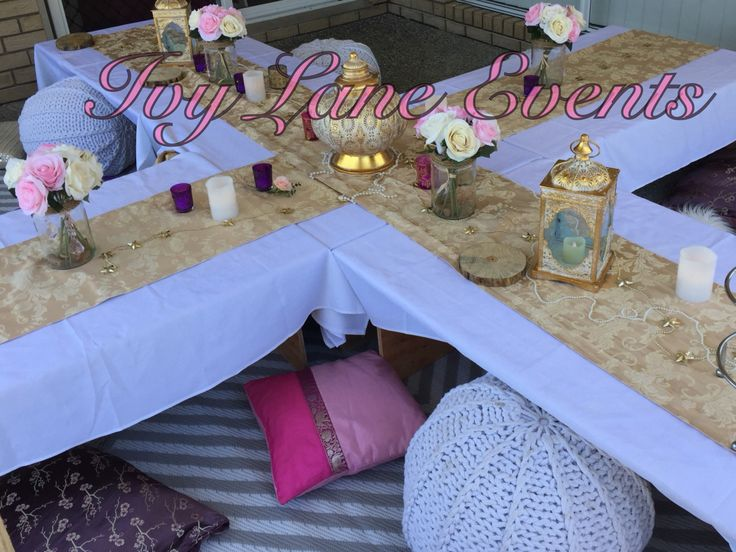 Sarah's Baby shower ☺️ Moroccan Bohemian Dinner Party, pink for a girl!