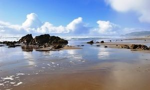Groupon - Stay at Starfish Manor Oceanfront Hotel in Lincoln City, OR. Dates into April. in Lincoln City, OR. Groupon deal price: $134.25