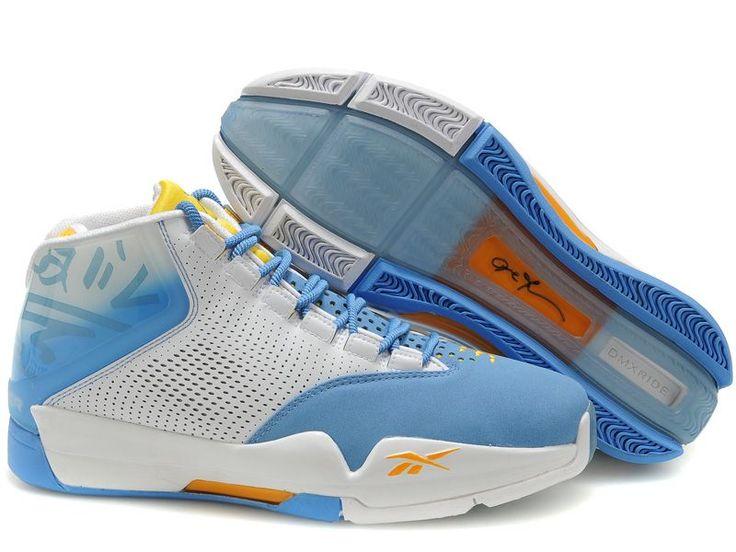 Allen Iverson Shoes | Home > Allen Iverson Shoes > Reebok Allen Iverson Shoes White Blue