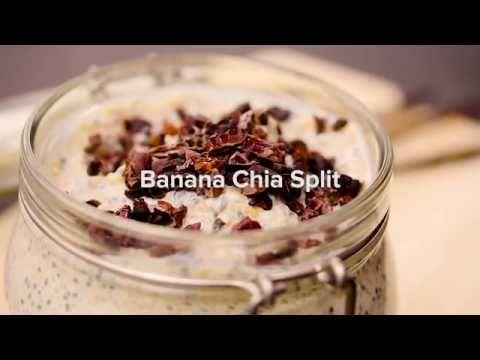 Healthy Chia Banana Split Recipe - Freeletics Nutrition - YouTube