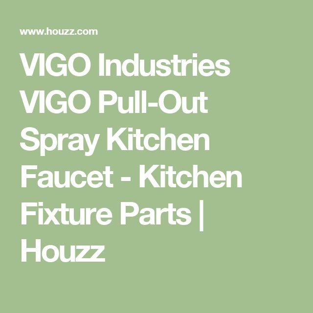 VIGO Industries VIGO Pull-Out Spray Kitchen Faucet - Kitchen Fixture Parts | Houzz
