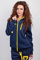 Кофта спортивная женская с капюшоном AG-0002585