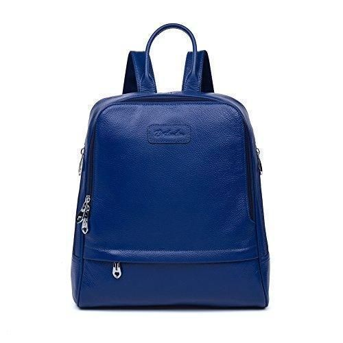 Oferta: 66.98€ Dto: -59%. Comprar Ofertas de BOSTANTEN Moda Piel Mochilas Bolsa Escolar Tipo Casual Bonita de Lona de Viaje Mochila de Marcha para Mujer, Azul barato. ¡Mira las ofertas!