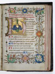 Getijden- en gebedenboek, omgeving Meester Catharina von Kleef, Utrecht, ca. 1440-1450 (Museum Catharijneconvent)