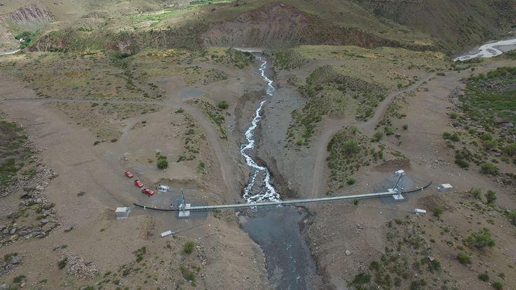 Gasoducto Argentina - Chile. Tramo Cordillera de los Andes