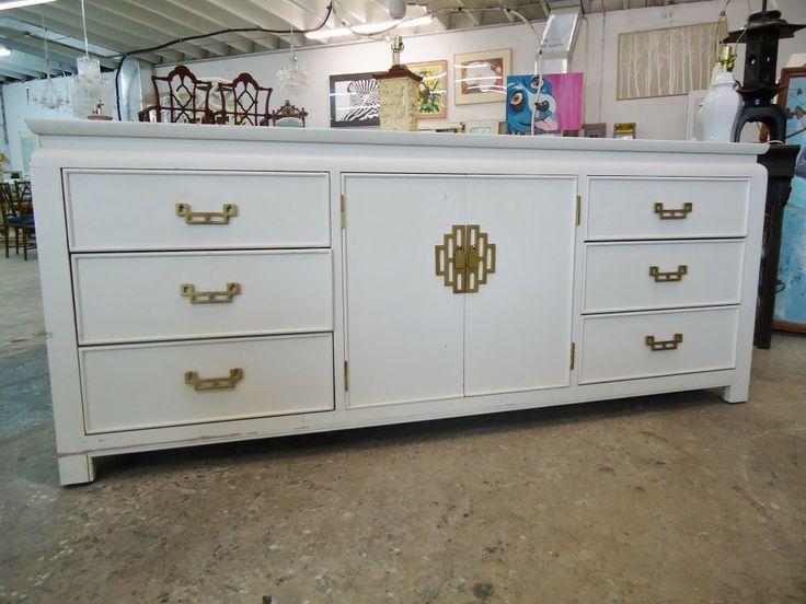Century Asian Inspired Dresser