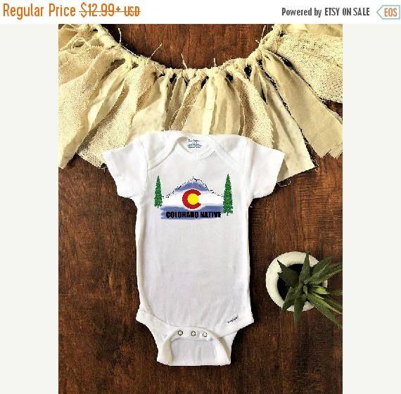 On Sale Colorado Native Baby Clothes Colorado Baby Colorado