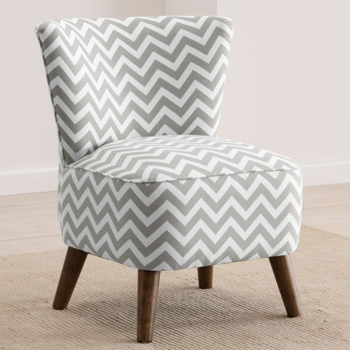 so in love with chevrons at the moment - Emma Accent Chair I