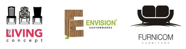 Apply Attractive Furniture Logos For your Company