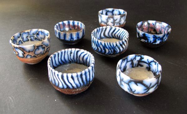 Woodfired bowls by Lisbeth Skytte Christiansen