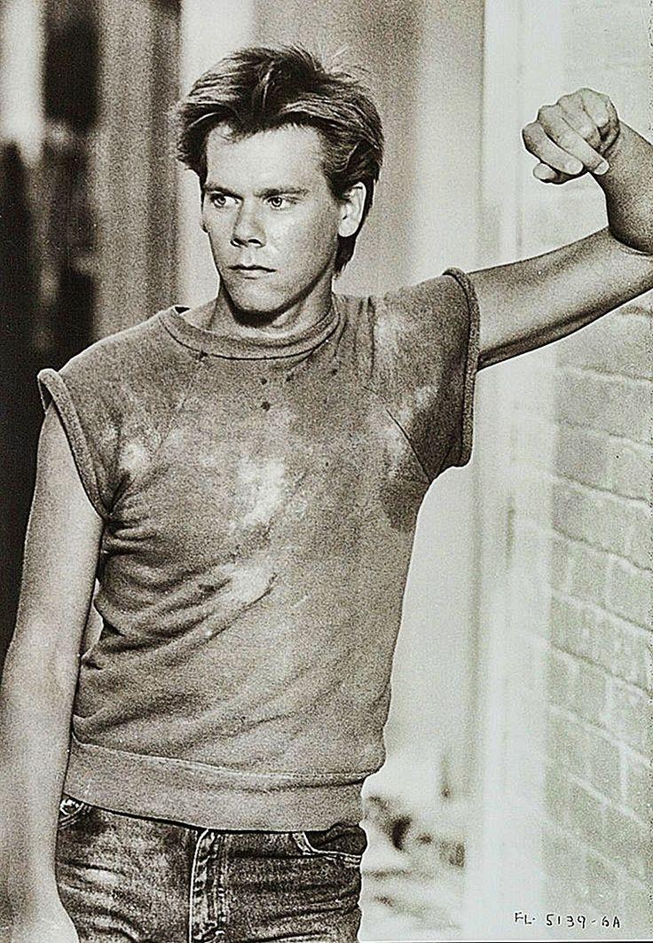 """Kevin Bacon en """"Footloose"""", 1984"""