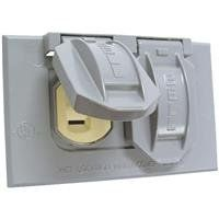 Do it Weatherproof Electrical Cover and Receptacle Outdoor Outlet Kit * Continue to the product at the image link.Note:It is affiliate link to Amazon.