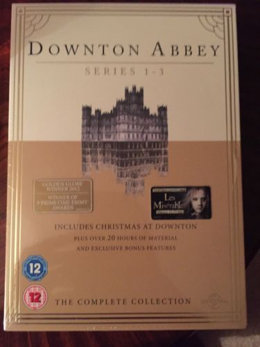 #Downton #abbey - series 1-3 and #christmas special - dvd - box set - new - seale,  View more on the LINK: http://www.zeppy.io/product/gb/2/162052595489/