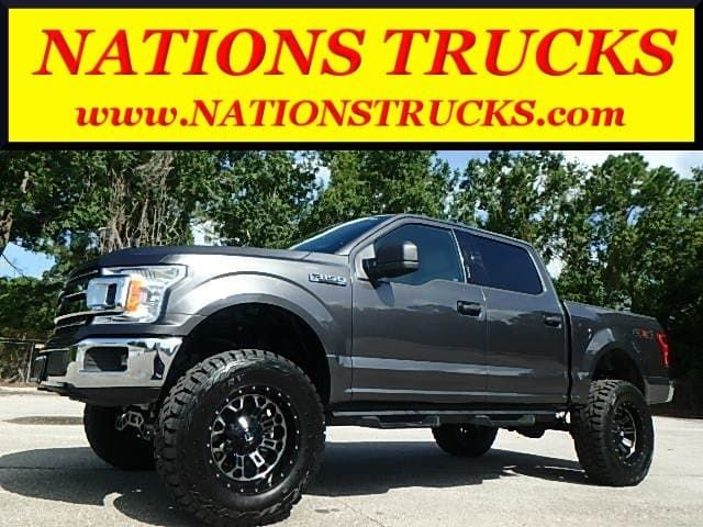 Used 2018 Ford F 150 Xlt Leather Supercrew 4x4 Truck Supercrew Cab