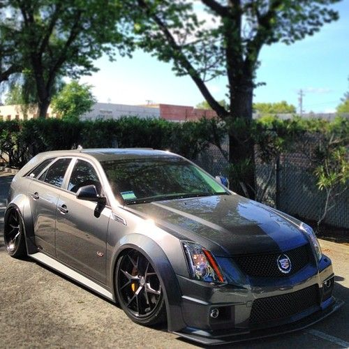 Cadillac Cts V Wagon For Sale: Can You Believe That's A Cadillac?