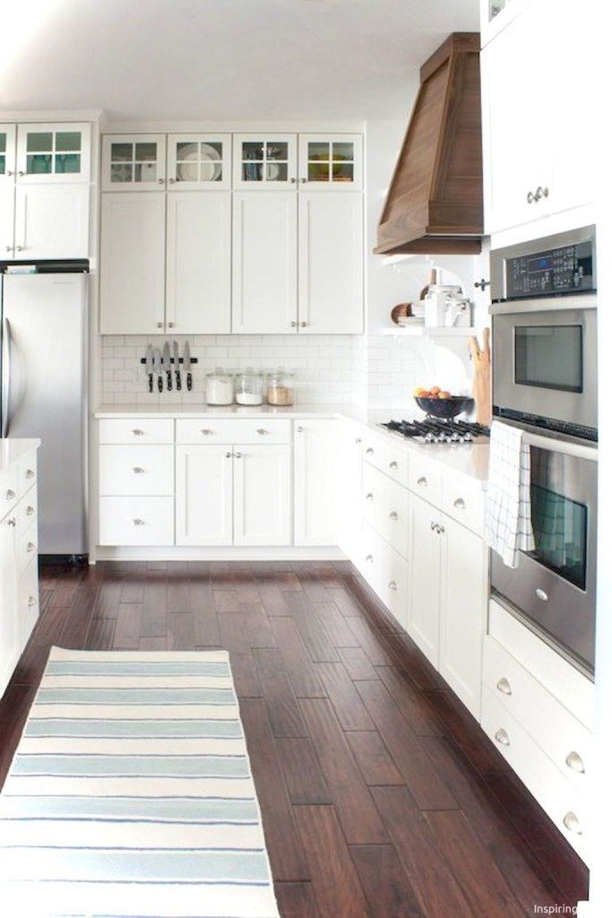 40 luxury white kitchen cabinets ideas popy home liberty kitchen rh pinterest com
