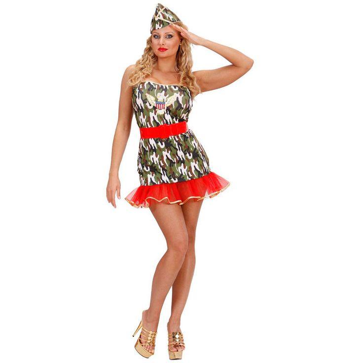 Disfraz de Militar Americana #disfraces #carnaval #outlet #rebajas