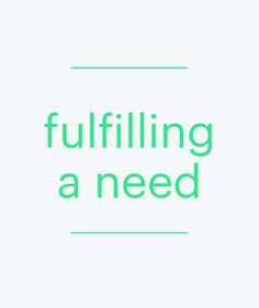 Products which can be tailored to fulfilling a specific need or personal purpose