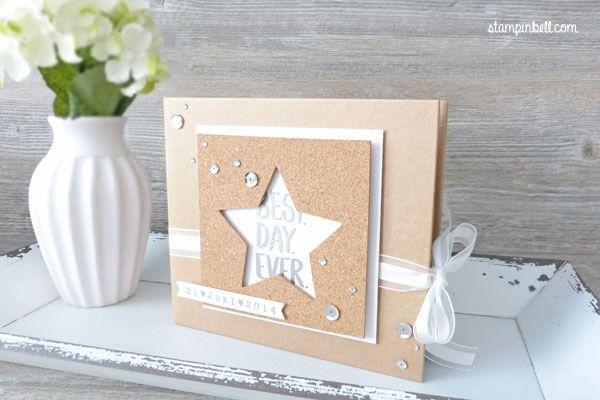 Projektset Deine Welt Hochzeitsalbum DIY Stampin Up! Weddingalbum Wedding Fotoalbum Hochzeit