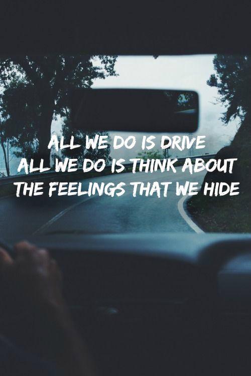 Halsey,lyrics, drive