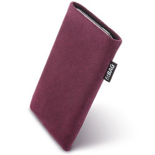 FitBAG Classic Burgundy custom tailored sleeve for LG Google Nexus 5. Genuine Alcantara pouch with integrated MicroFibre lining for display cleaning. Made in Germany. Handsewn to perfectly fit for LG Google Nexus 5. Absolutely top quality. The best way to get rid of this problem is to take a lens cleaning cloth and to clean your phone. Very fine and fashionable genuine Alcantara. But should one always have a lens cleaning cloth with him/her? Now, the right solution is found: we've...