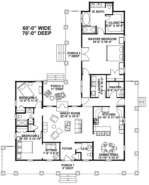 59 best images about floor plans on pinterest house plans french country and bonus rooms - Best country house plans gallery ...