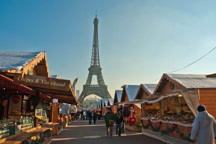 Mercadillo de Mail Branly, París - Los mejores mercadillos navideños de Europa