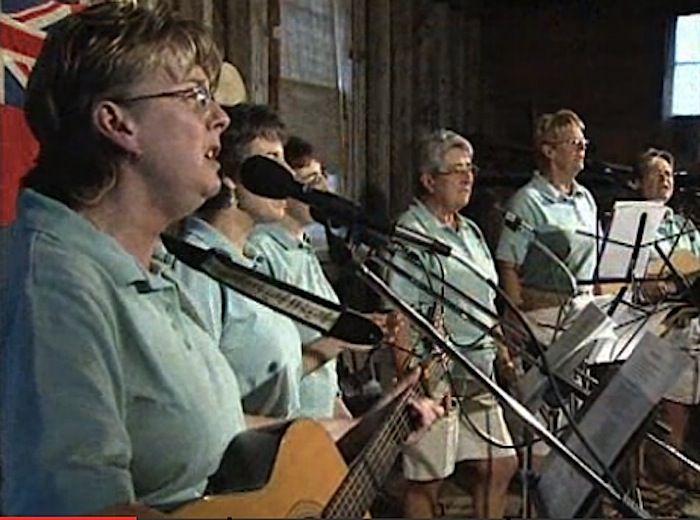 Twillingate's Split Peas group performs on CBCs Land and Sea