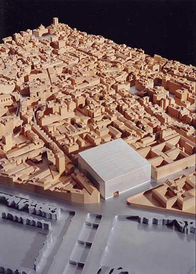 SANAA, , architectural model, maquette, model0