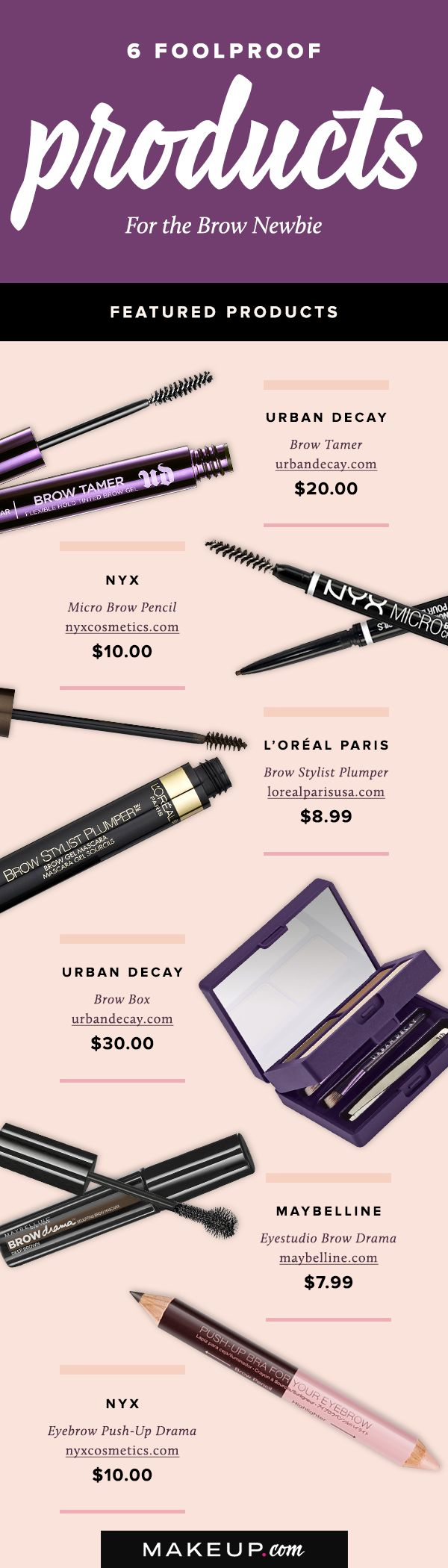 Brows are a major topic of conversation in the makeup world. If you're just now starting to pay attention to your eyebrows and want them to be seriously on fleek, we'll tell you what the best eyebrow products are.