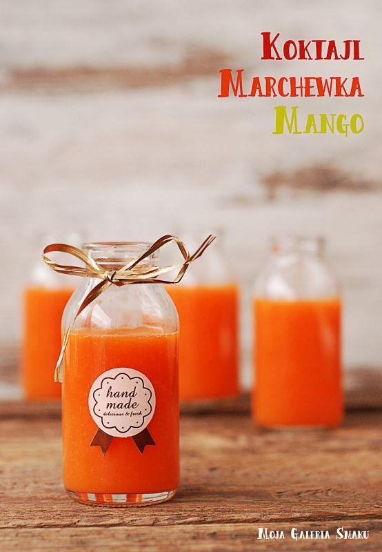 Koktajl marchewka-mango