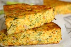recette de cuisine moelleux carottes courgettes & jambon