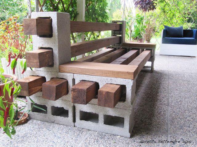 Oltre 20 migliori idee su panchine da giardino pallet su for Disegni di blocchi di cemento casa