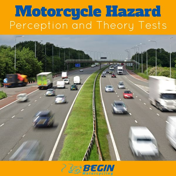 Before taking your practical tests, you will have to take and pass the motorcycle theory and motorcycle hazard perception tests. You can take your theory test before your CBT but most people wait until after.  The theory test will gauge your knowledge and understanding of riding theory. A sound knowledge of the theory is essential to a better understanding of practical riding skills. #learntoride #motorcycling #beginners #tests #beginmotorcycling