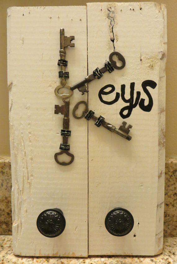 13 best key holders images on Pinterest | Key chains, Key holder ...