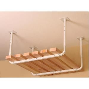 HyLoft 30 in. x 26 in. Pair of Customizable Ceiling Storage Racks-80842-10 at The Home Depot